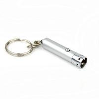 Free Shipping Wholesale&Retail Mini UV Light Forged Money Detector w/Keychain