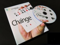 Change (DVD and Gimmick) by SansMinds - Trick, card magic,magic tricks,fire,props,dice,comedy,mental magic