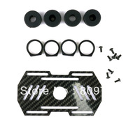 free shipping D8 Shock Absorbing Glassy Carbon Fast-Hooking Battery Mounting Plate FC102360