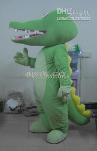 personalizada nuevo traje de cocodrilo mascota de los deportes de los
