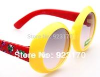 2014 Free Shipping UV-400 Circular Frame Around Children's Sunglasses