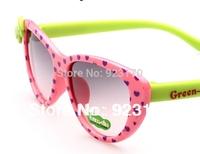 Free Shipping 2013 Fashion Bow Anti-uv Children's Glasses