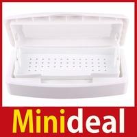 rising stars [MiniDeal] Pro Sterilizer Tray Box Sterilizing Clean Nail Art Salon Tool Hot hot promotion!
