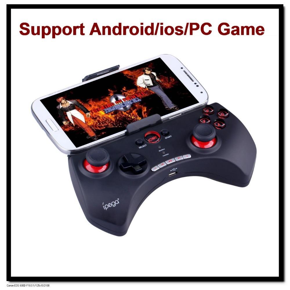 DHL 10pcs/lot Ipega PG-9025 Bluetooth Controller Multi-Media Game Pad Joystick For iPhone/iPad/iPod Android Mobile Phones(China (Mainland))