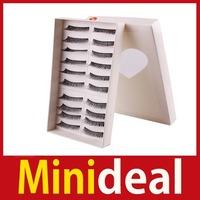[MiniDeal] 10 Pairs Long Thick Soft False Fake Eyelash Eye Lash Makeup #P29 Hot