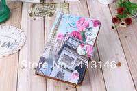 "Triumphal Arch Rose Printed 7"" Retro Protective Leather Cover for Android Tablet PC MID"