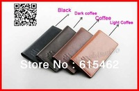Free shipping,Man Long Design Genuine Leather Wallets Men's Cowhide/Cowskin Leather Wallets/Purse/Card Holders For Men WA-007