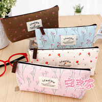 Ann korea stationery fresh zakka rustic pencil box pencil case pen curtain