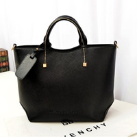 The new stylish simplicity solid pu Ms. portable shoulder bag diagonal big retail and wholesale