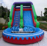 Inflatable water park water slide splash pool water slide