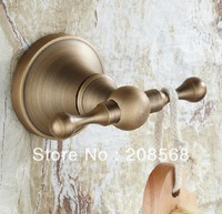 Classic bathroom accessories Clothes Hook  Bronze Creative Row Hook Bathroom Accessories Wall Mounted