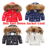 Kids Down & Parkas Brand Winter Jackets & Coats for Girls Children's Winter Down Jacket for Boys New 2013 Children Outerwear
