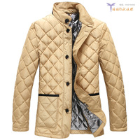 2013 winter casual plus size loose slim velvet white duck down coat thin men's clothing outerwear