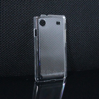For samsung   i8250 phone case protective case crystal transparent rhinestone pasted diy