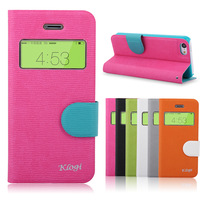 For  klogi  apple  5c phone case leather case 5c mobile phone case  for iphone   5c flip protective case shell