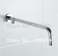 Латунь строительство хром отделки стены завинчиванием ванной душ руку 523