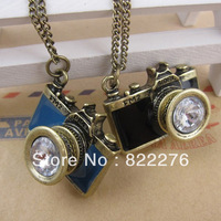 Hot Sale Individual Vintage Camera Pendant Alloy Necklace #A022
