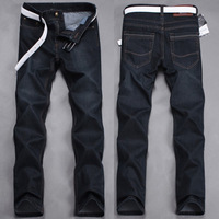 NEW model dark black color men jeans big brand jeans for men autumn -summer men's pants fashion zone men's clothing