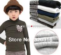 Free Shipping,Children High Quality Long Sleeve T-shirt Grey Color T-shirt Print bus 100% Cotton Wholesale TZ15A01