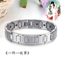 Anti fatigue tungsten steel magnetic bracelet quality tungsten bars and rods radiation-resistant hand ring
