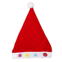 Christmas gift child  love pattern christmas hats hair accessory