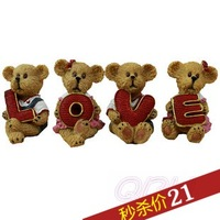 Combination 130213 love birthday gift cartoon decoration home garden
