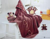 Toddler newborn baby blankets size 80x80CM children kids blankets
