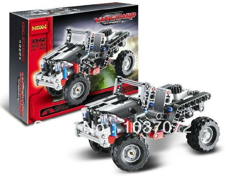 Decool 3342 Vanguaro vehicle toys bricks Enlighten Plastic building blocks educational child toys(China (Mainland))