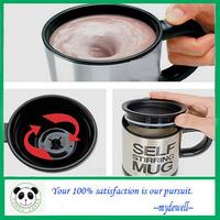 Hot sale Automatic Mixing Mug,self stirring Mug,electric coffee cup, electric beverage cup,Creative, Free shipping