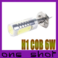 2pcs High Power 12V 24V 6W COB H1 Fog Light Lamp DRL Headlight