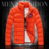 2013 winter wadded jacket male plus size plus size cotton-padded jacket men's clothing fat people fashion outerwear winter