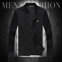 2013 autumn jacket plus size plus size outerwear thin knitted baseball clothing slim men's clothing outerwear