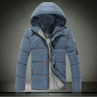 2013 winter male cotton-padded jacket male plus size plus size down cotton wadded jacket thickening outerwear men's clothing