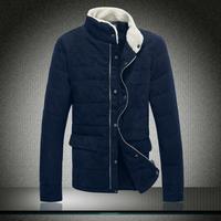 2013 winter male cotton-padded jacket male plus size plus size wadded jacket thickening thermal cotton-padded jacket outerwear