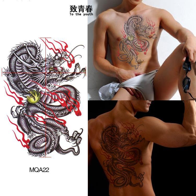 Fotos Tatoo Feminina Atacado Frete Grátis Waterproof Tatuagens Grande Braço Para Ficar Moda De Lótus Buda Como Tatuagem Autocolantes Tatuagem