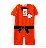 Toddler infant newborn baby romper one piece short sleeve cotton cartoon Wukong kids bodysuits