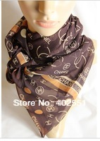 2013 fashion classic Letter scarf c2 hot selling 2013 latest designer silk scarf for women chiffon scarf