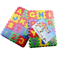 free shipping Educational toys eva mats child intelligence puzzle number puzzle letter puzzle toy 36