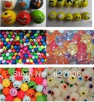Creative FedEx 32mm mix rubber Hi Bouncing balls, bouncy ball, bounce ball, picture bouncing ball kids.1000/lot Factory