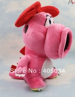 "9"" plush Birdo toys dolls super mario brothers Soft Cathrine character Stuffed Christmas gift 40pcs/lot"