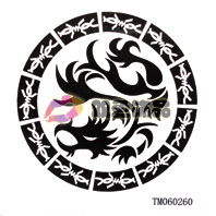 Waterproof diy tattoo sticker Men tattoo stickers tm060260