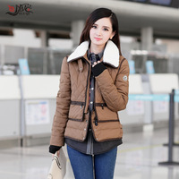 2013 winter female down coat with a hood slim short down coat design thermal women's outerwear