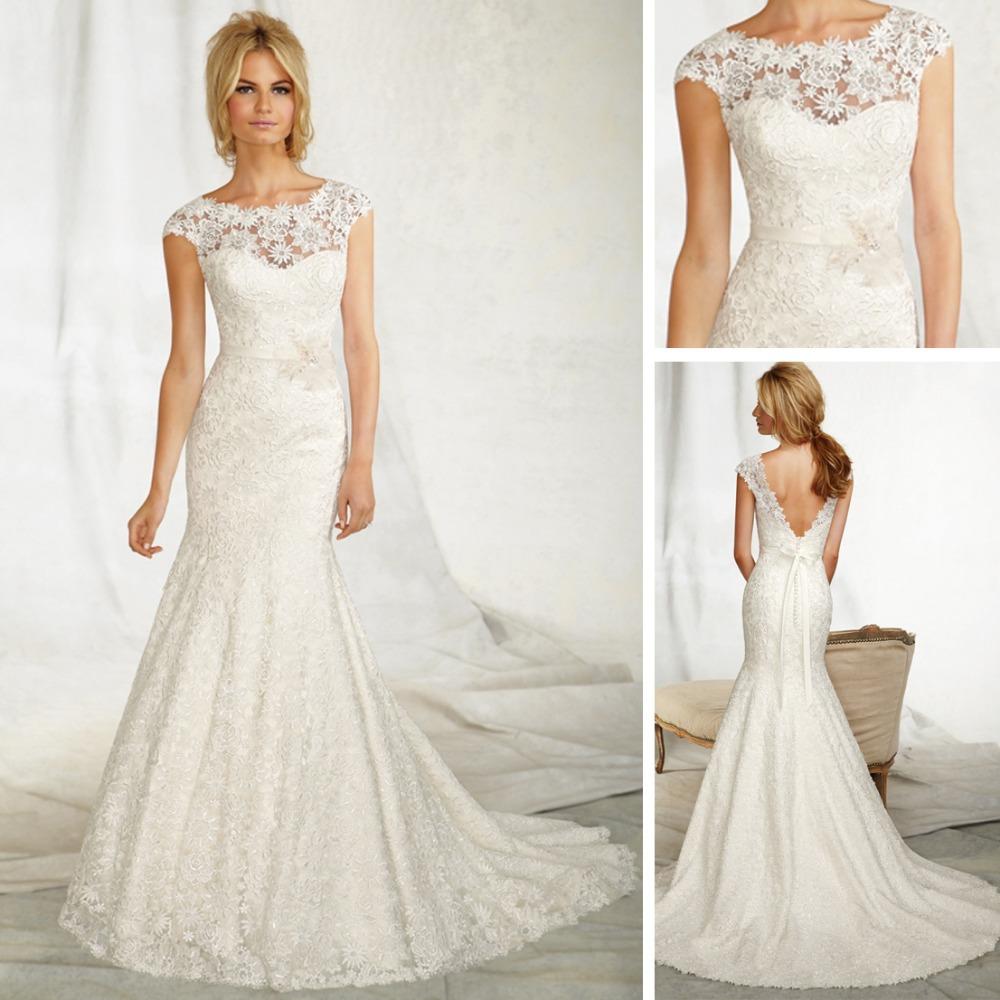Fishtail Wedding Dresses Suggestions : Alibaba wedding dress of fishtail lace vintage backless