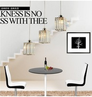 Modern minimalist luxury crystal chandelier lamp creative three restaurant bar table lamp lighting lamps PL9136