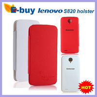 In Stock Free Shipping 100% Original Lenovo S820 Flip Case