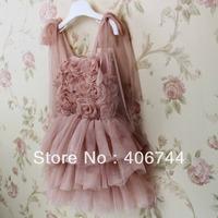 2014 kids floral dress,tutu dress for kids,girl party dress,5pcs/lot,JYJ020
