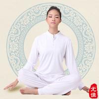 Preferred 2013 autumn white yoga clothes set female yoga clothing yoga meditation