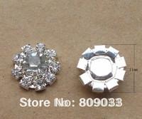 BU141 11mm rhinestone embellishment without loop rhinestone cluster
