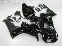 Complete fairing kit for Honda CBR1000RR 06 07 CBR 1000 RR 2006 2007 06 07 CBR1000 RR with tank cover All Black