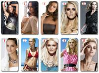 new free shipping 10pcs/lot Estonia supermodel Carmen Kass cover for iphone4 4s